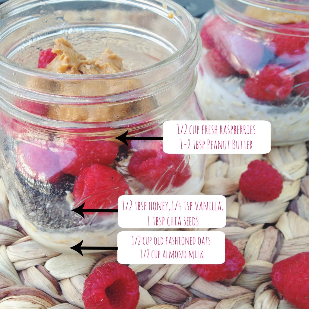 PB&J Overnight Oats Recipe