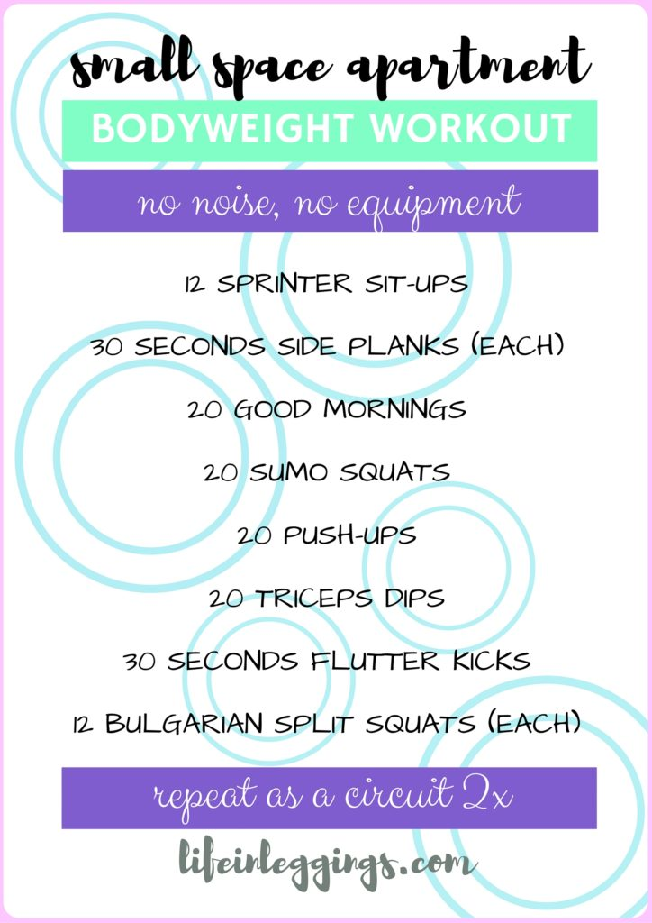 small-space-apartment-workout-no-noise-no-equipment
