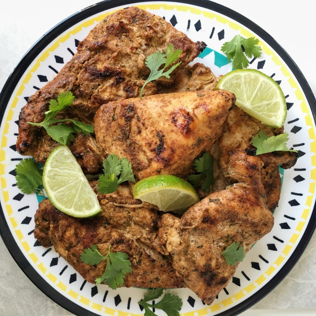 Grilled Jamaican Jerk Chicken- Sweet and Strong Blog