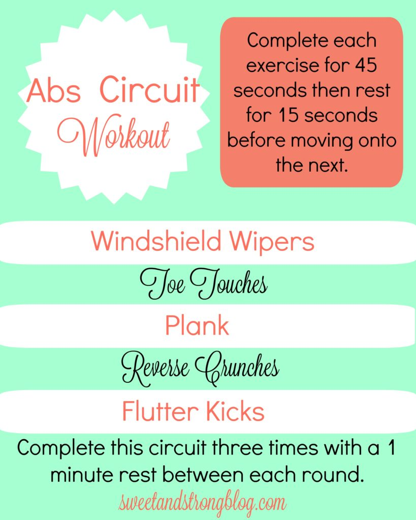 Killer Abs Circuit Workout