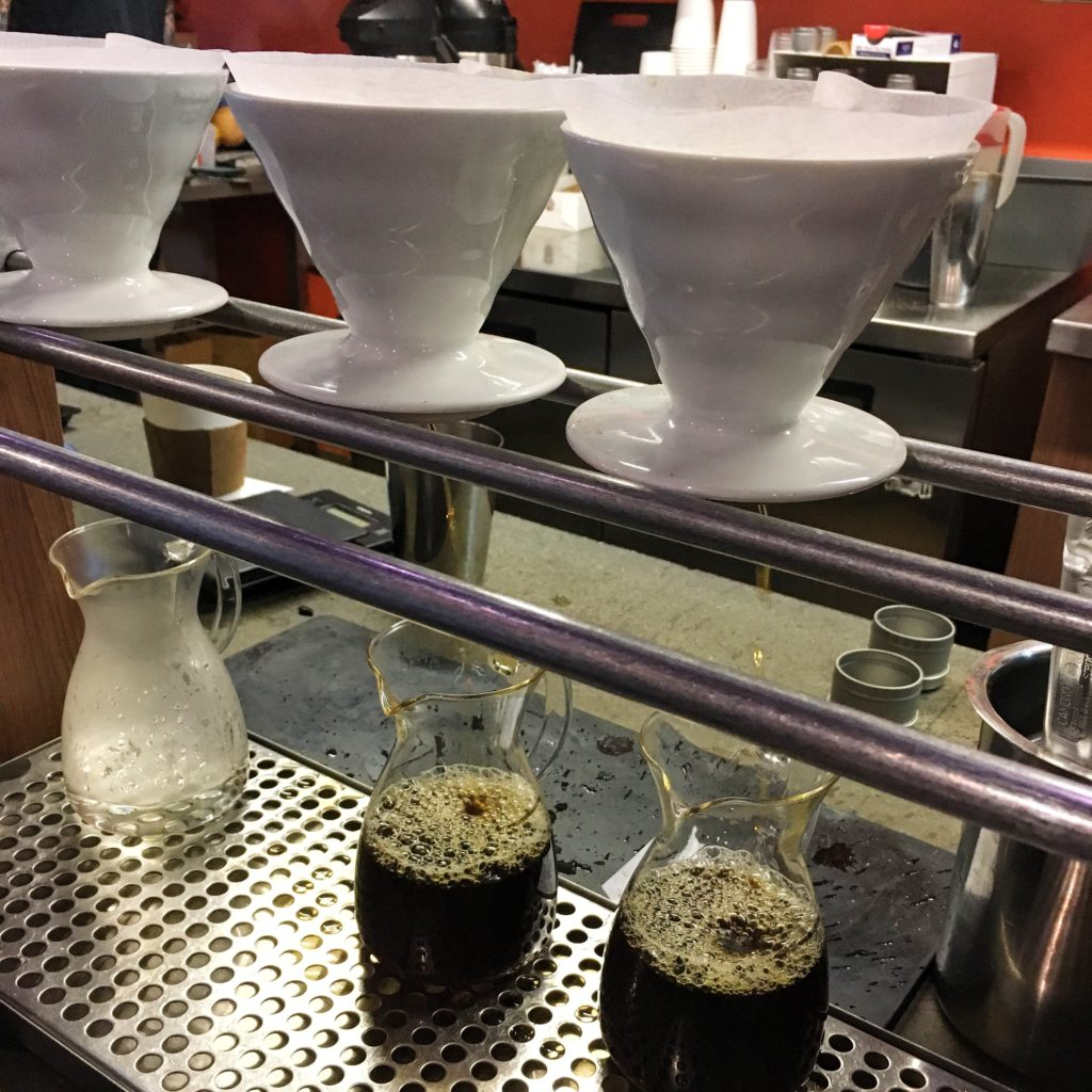 Filter Pour Over Coffee