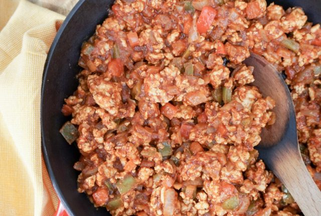 Turkey Taco Sloppy Joes