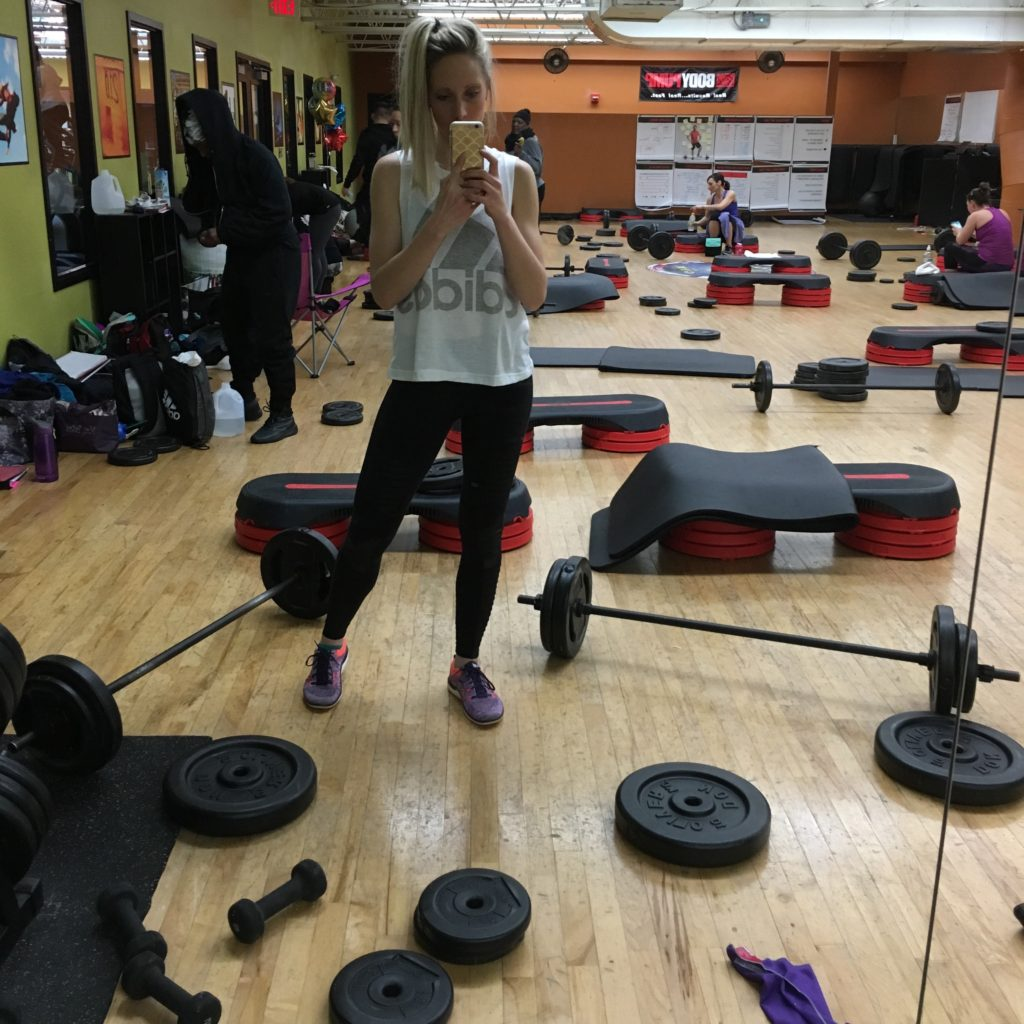 My Les Mills Bodypump Initial Training Experience