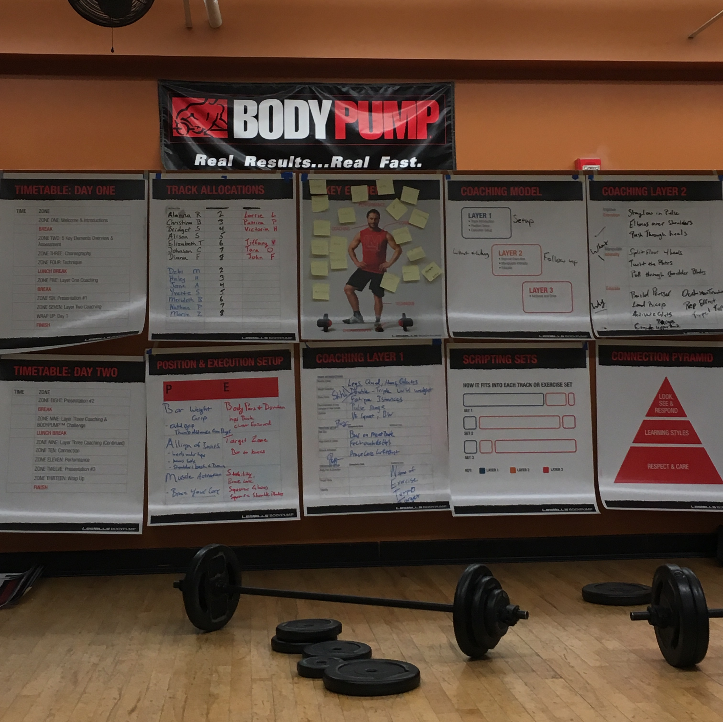 Les Mills Bodypump Inital Instructor Training Experience
