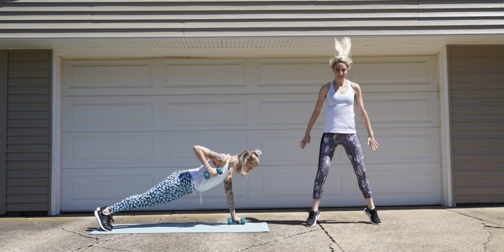 Cardio and Strength Partner Workout Featuring Prismsport