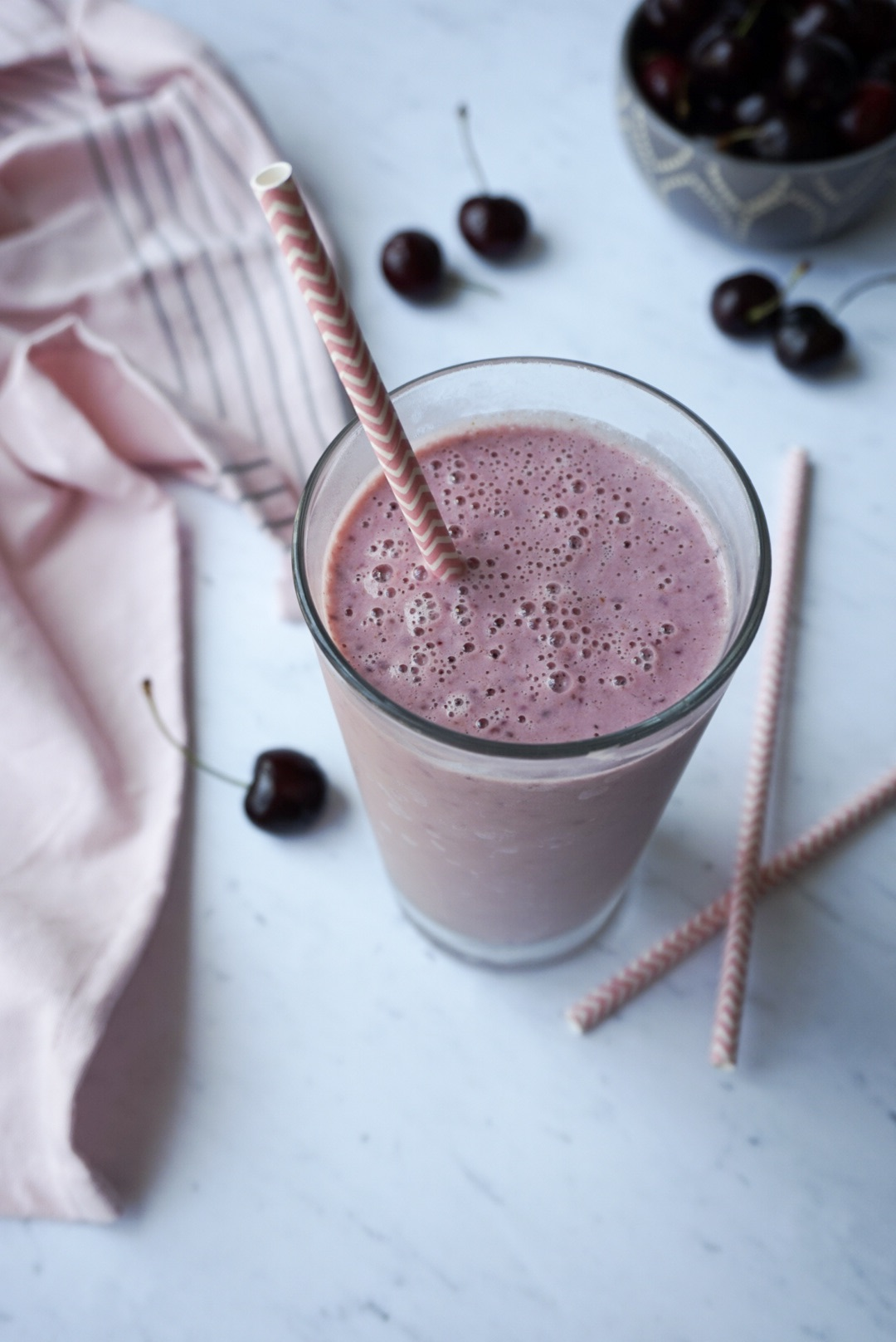 Cherry Pie Smoothie Recipe - Sweet and Strong