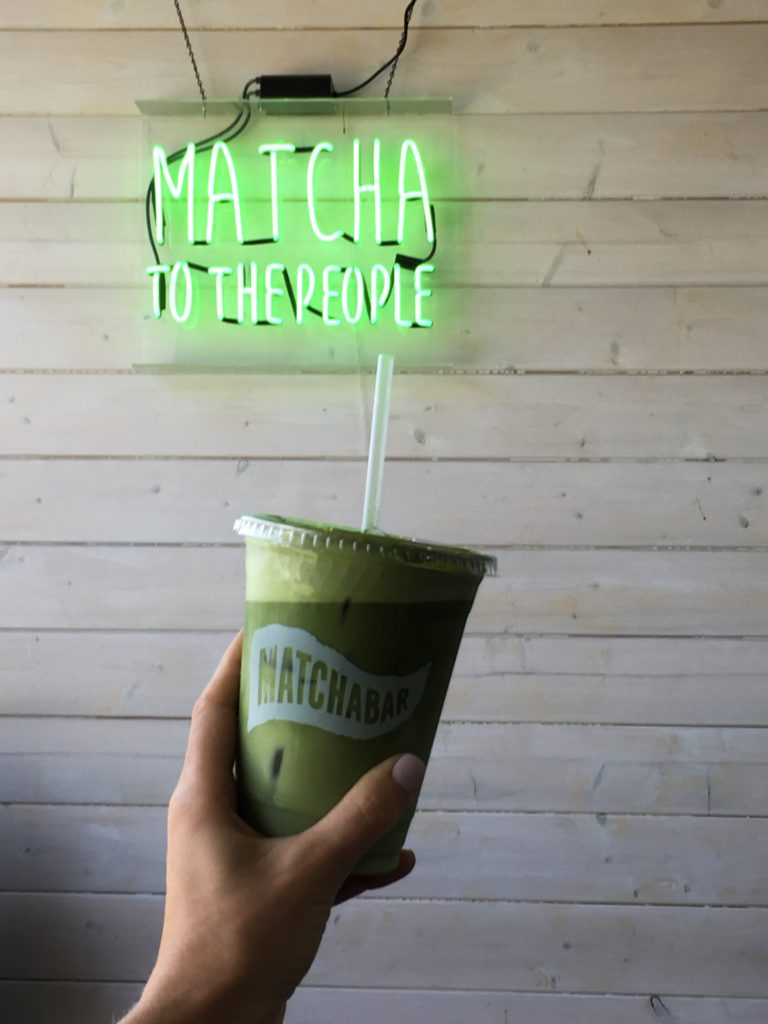 Matcha Bar Silver Lake