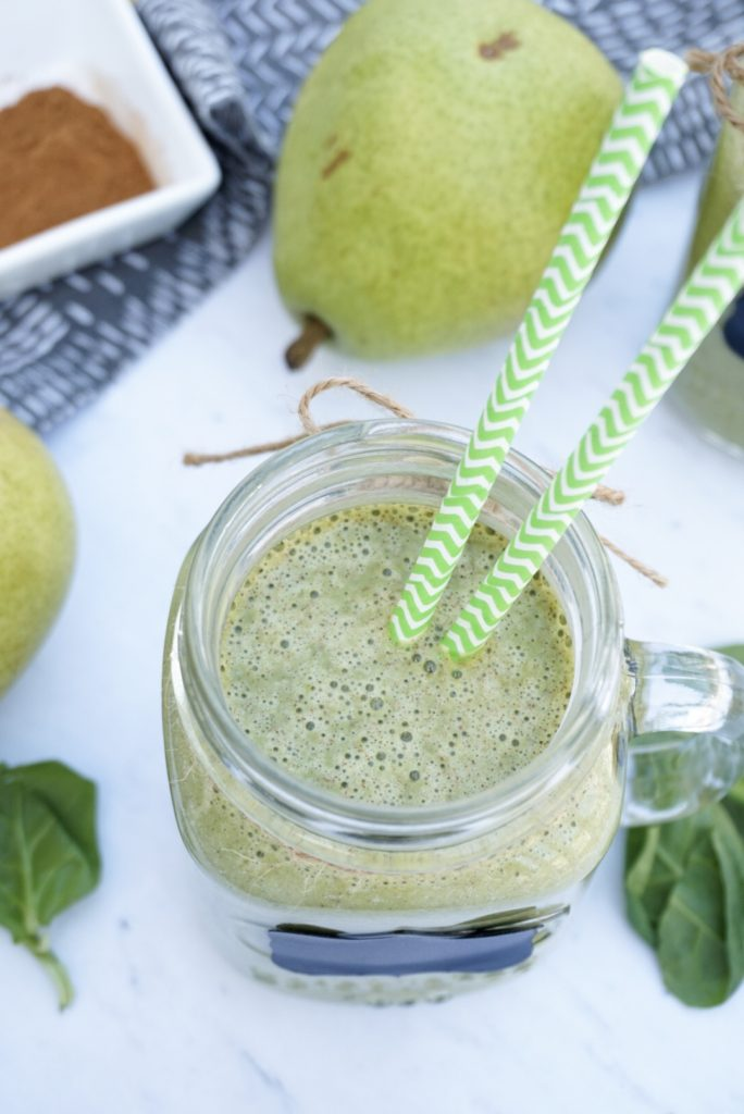 Fall Green Pear Smoothie Recipe