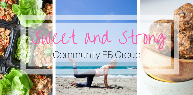 Sweet and Strong Community Facebook Group