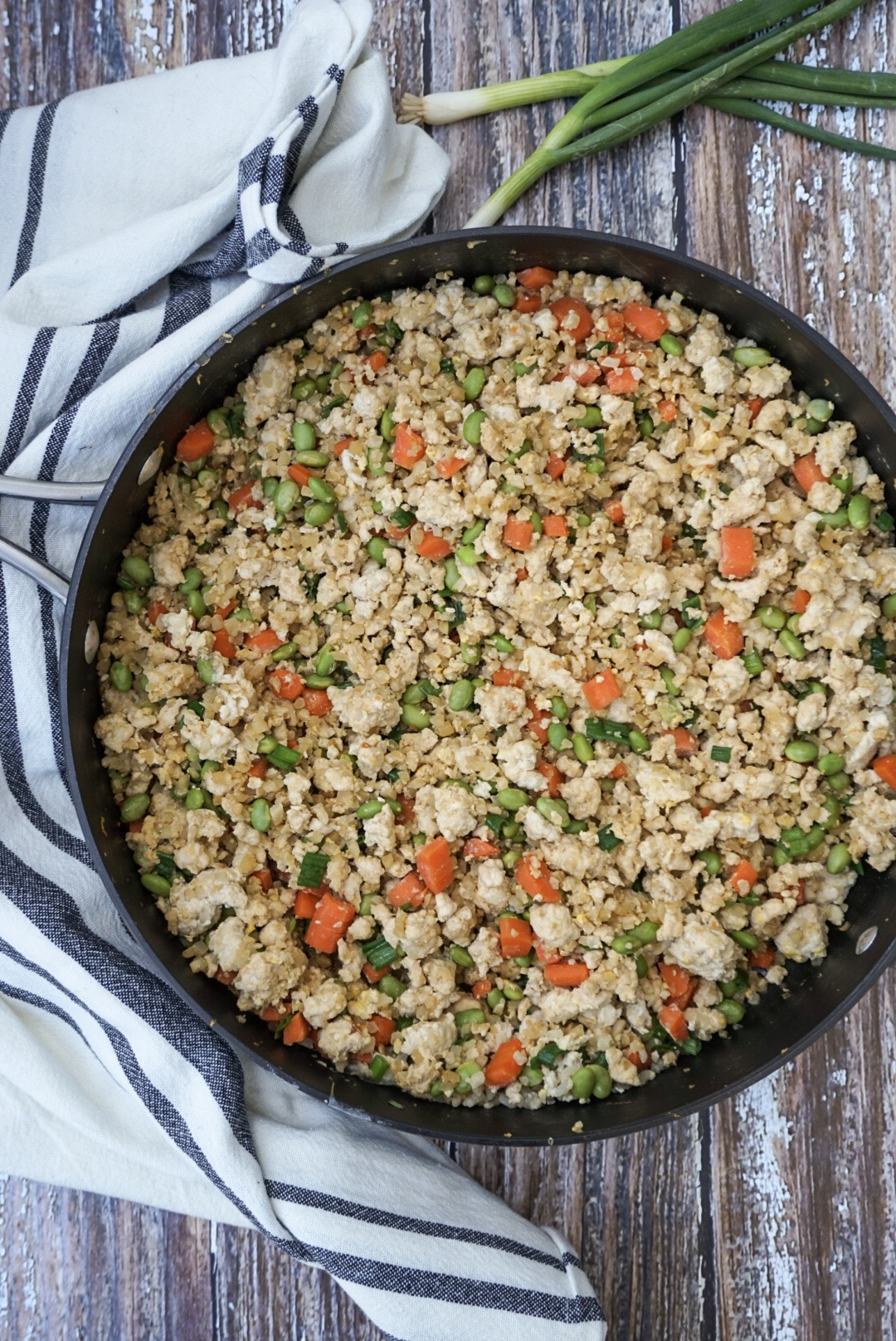 Turkey Fried Cauliflower Rice