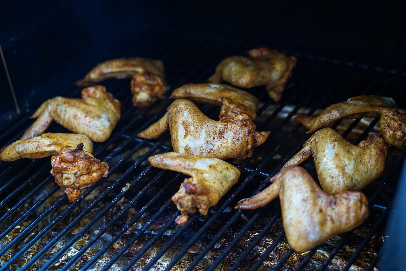 Wings on the Traeger Grill