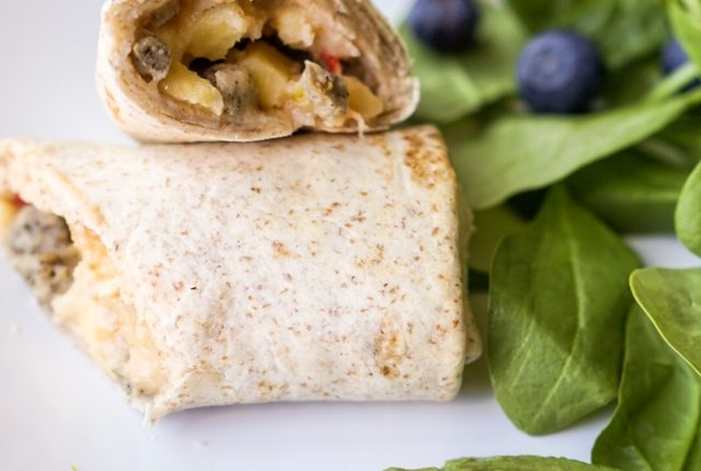 Good Food Made Simple Turkey Sausage Breakfast Burrito