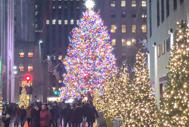 Rockefeller Center at Christmas Time NYC