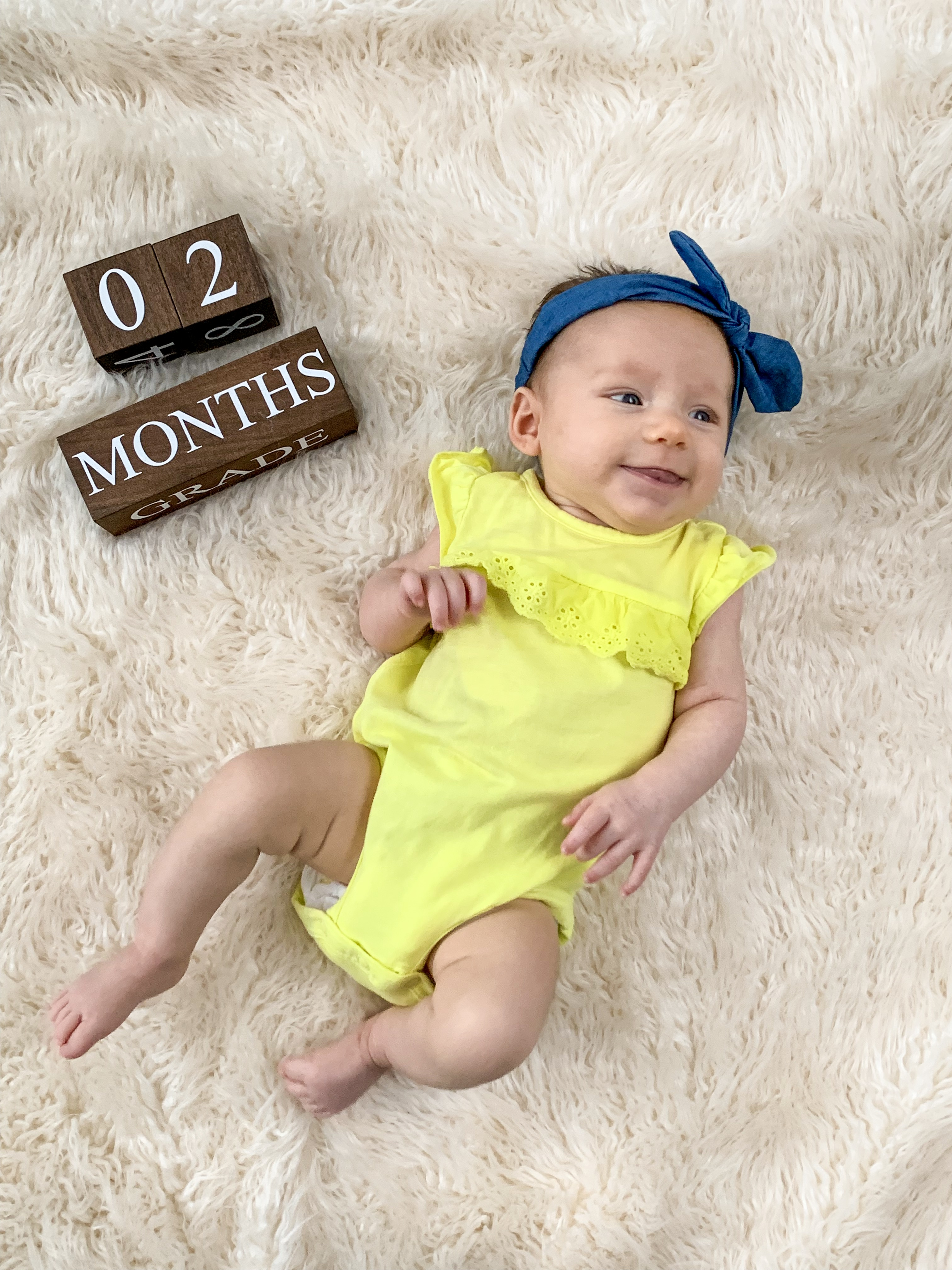 2 month baby picture