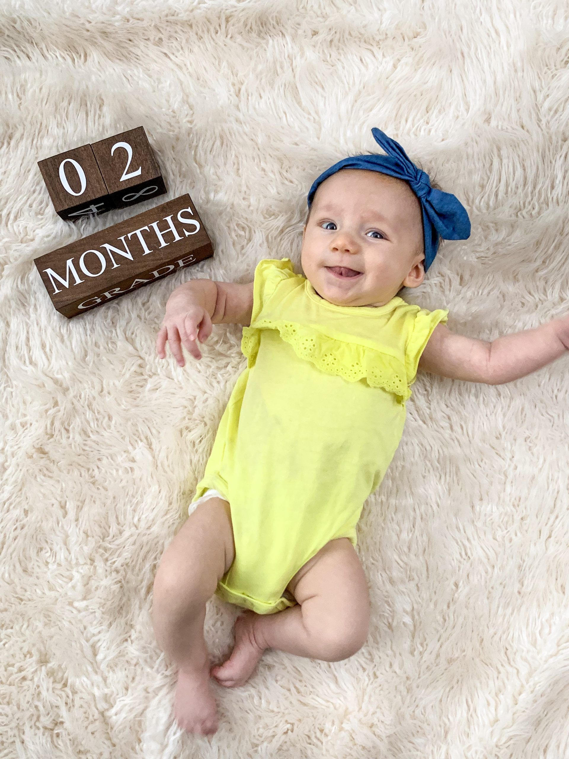 2 month baby update