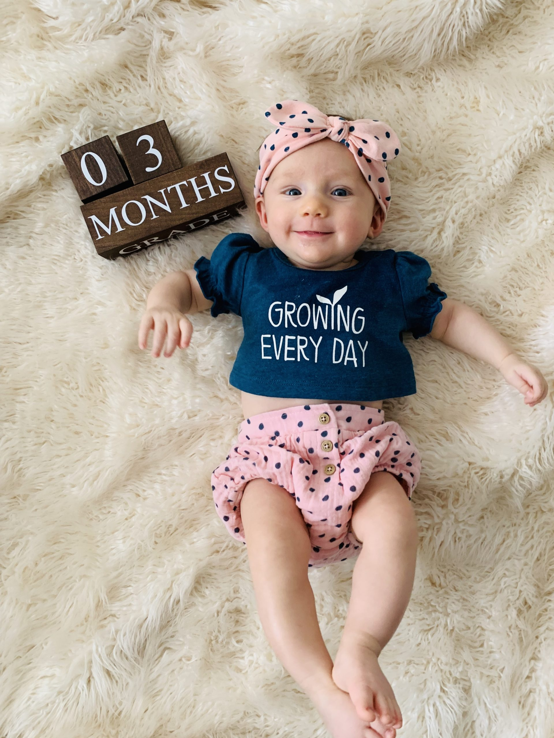 3 month baby update