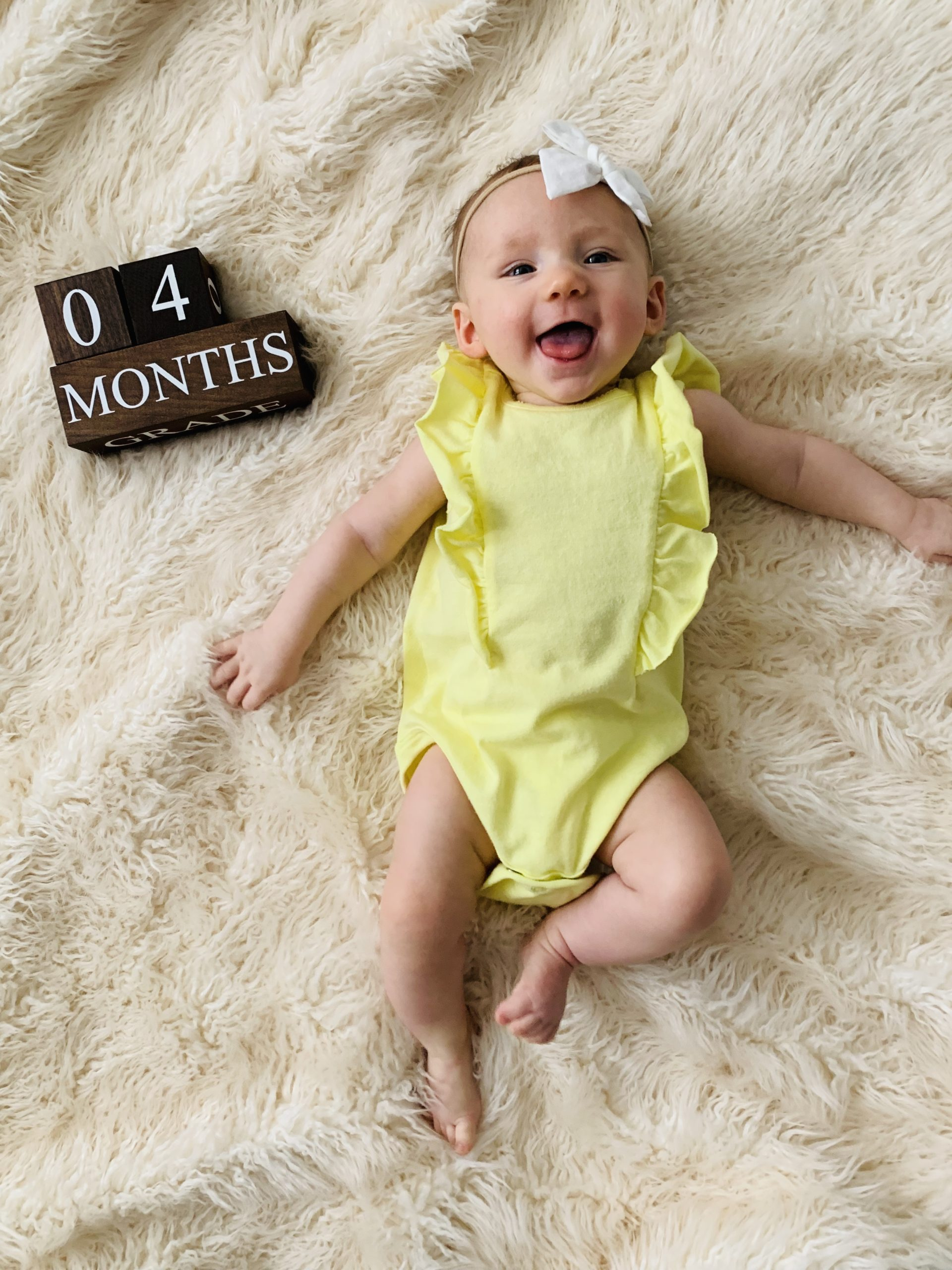 4 month baby update