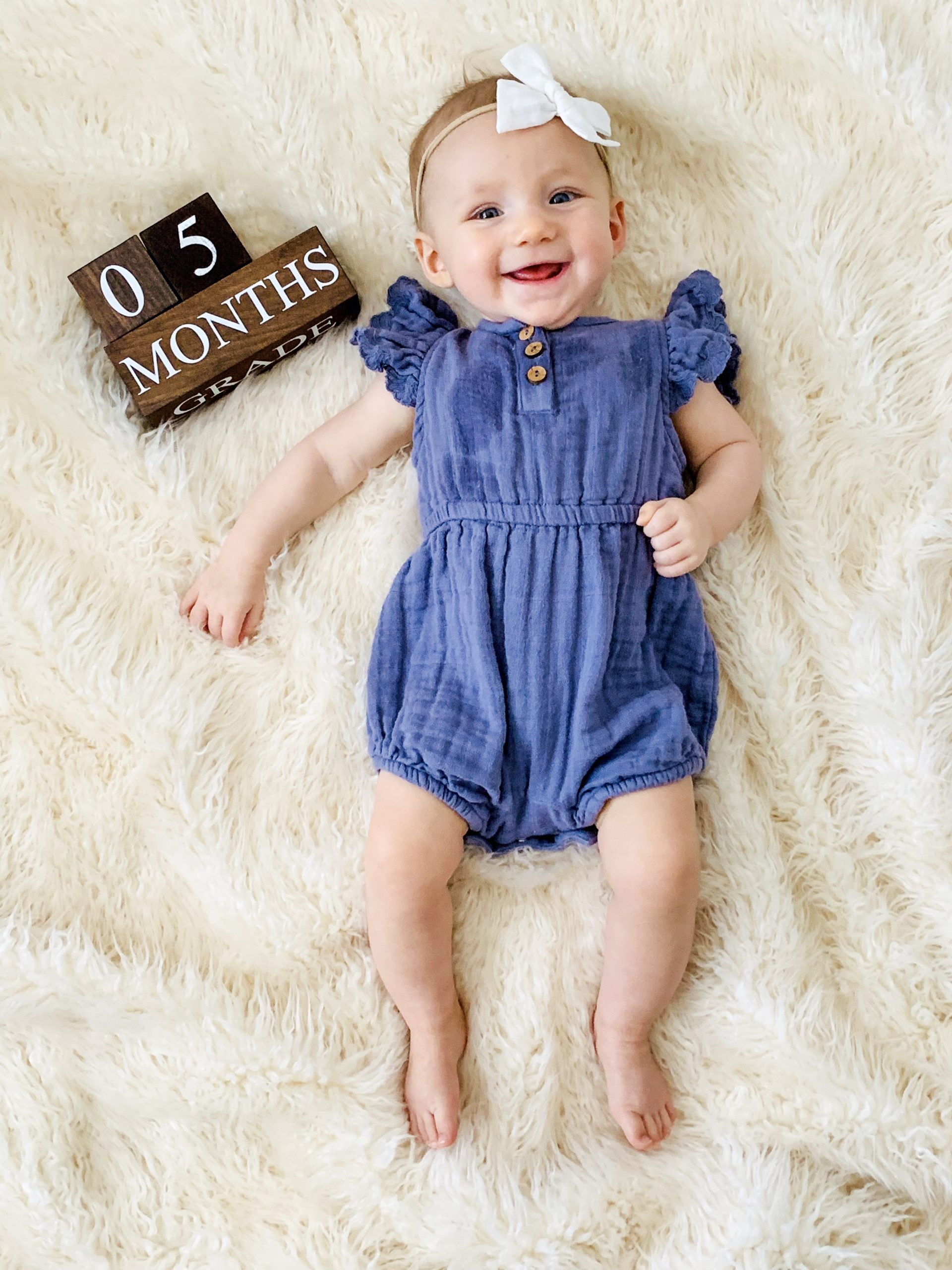 5 month baby update