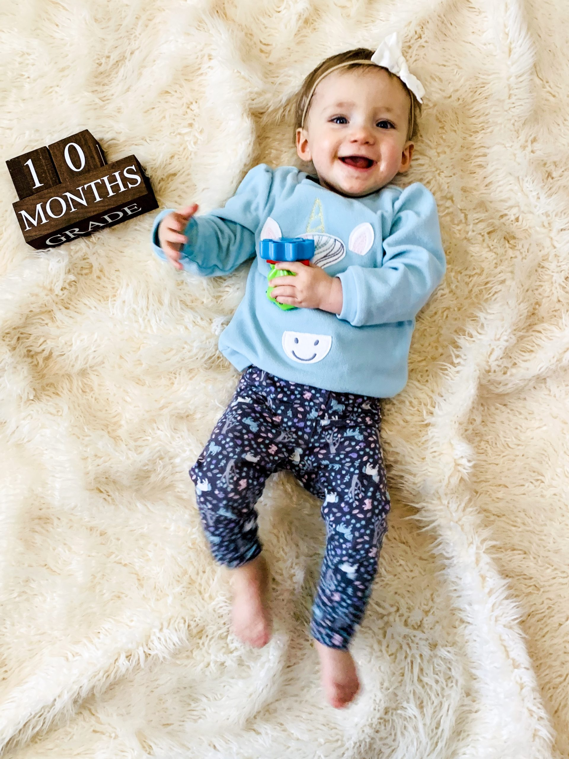 10 month baby update